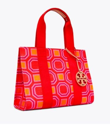 Tory Burch トートバッグ 最新作限定セール 4色 トリーバーチ PRINTED TORY TOTE(4)
