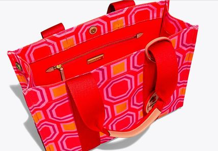 Tory Burch トートバッグ 最新作限定セール 4色 トリーバーチ PRINTED TORY TOTE(5)