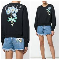 【Off-White】Flower Sweatshirt