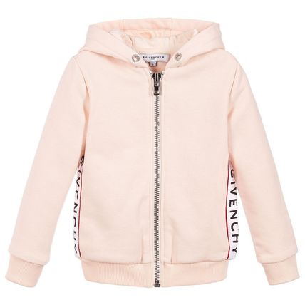 GIVENCHY KIDS 大人もOK 5-12歳 ロゴ  パーカー ピンク