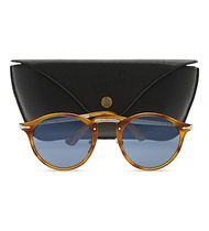 Persol(ペルソール) サングラス 『関税・送料無料』PERSOL Po3166S round-frame  sunglasses