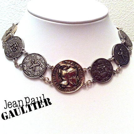JeanPaul GAULTIER ネックレス・ペンダント ゴルチエ★《CHARMS》コインチョーカー(即納・送料無料)
