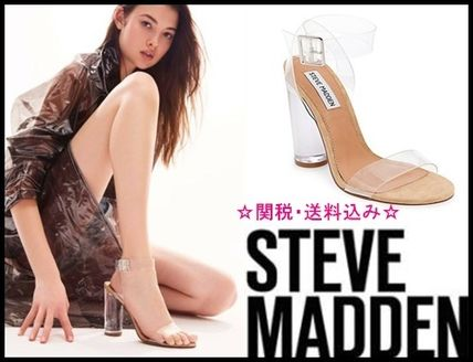 送料込み!SALE!!☆STEVE MADDEN☆CLEARERサンダル