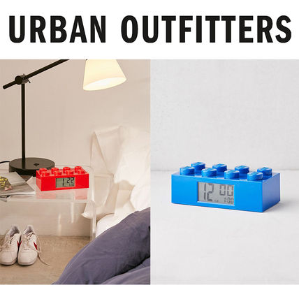 LEGO☆Urban Outfitters限定☆LEGOアラーム時計☆選択2色