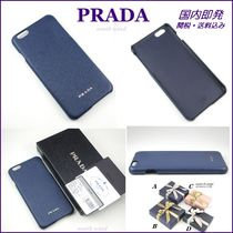 PRADA iPhone6Plus/6sPlus カバー サフィアーノ BLUETTE 2ARI41