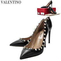 VALENTINO★ROCKSTUD パンプス 8cm PW2S0A04 VCE 0NO