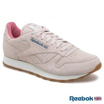 ラインフレンズ×Reebok★CL LEATHER MU PINK/PINK/GREY/CHALK