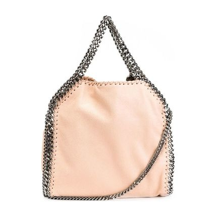 Stella McCartney トートバッグ Stella McCartney FALABELLA ミニ トート POWDER(2)