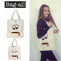 NY発★Bag-all★インスタ映え! GOOGLY EYE ZIPPER TOTE☆