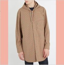 【数量限定】 18SS ACNE STUDIOS Merves hooded checked jacket