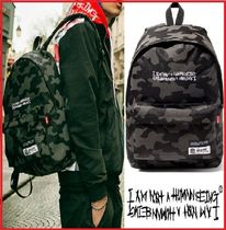 I AM NOT A HUMAN BEING(ヒューマンビーイング) バックパック・リュック I AM NOT A HUMAN BEING★正規品★486921 DAY PACK 迷彩/追跡付