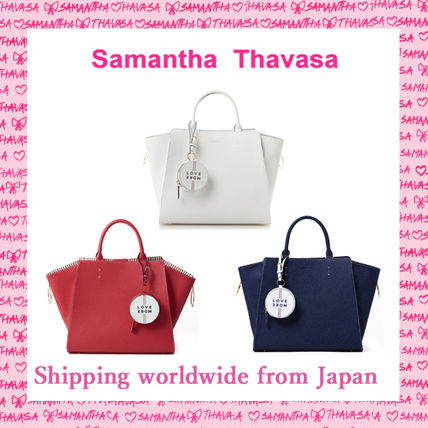 Samantha Thavasa × Fred Segal ビッグレザートート