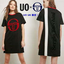 UO イギリス限定! SERGIO TACCHINI FOR UO 2018SS Tシャツワンピ