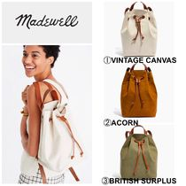 Madewell(メイドウェル) バックパック・リュック 【MADEWELL】●新作●日本未入荷●the canvas somerset backpack