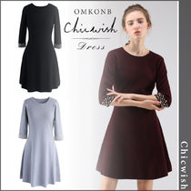 【国内発送・関税込】Chicwish★Endearing Pearls Knit Dress