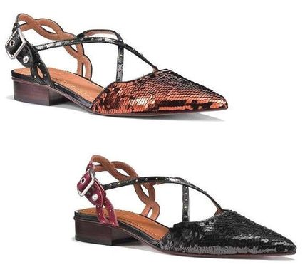 <SALE>COACH Flat With Sequins