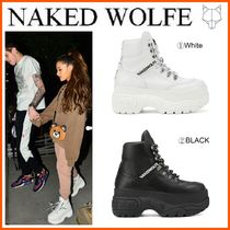 Naked Wolfe(ネイキッドウルフ) スニーカー 日本未入荷!新作18SS☆NAKED WOLFE☆WICKED  LEATHER