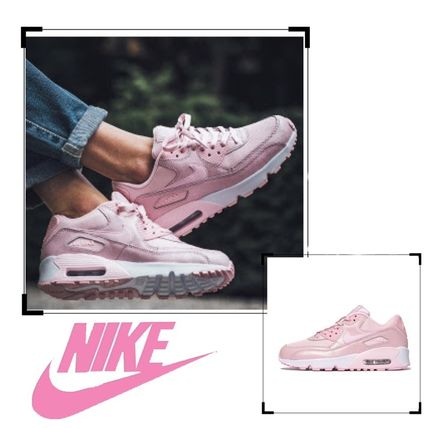 Nike キッズスニーカー 【大人もOK】NIKE AIR MAX 90 Prism Pink(ベビーピンク)