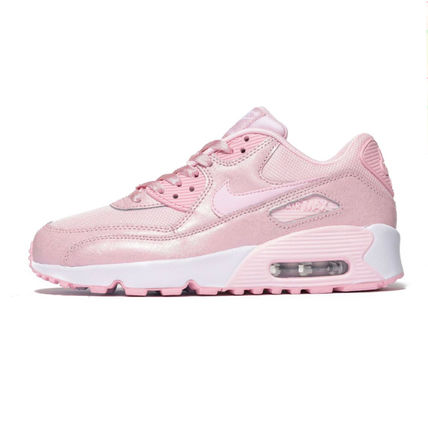 Nike キッズスニーカー 【大人もOK】NIKE AIR MAX 90 Prism Pink(ベビーピンク)(2)