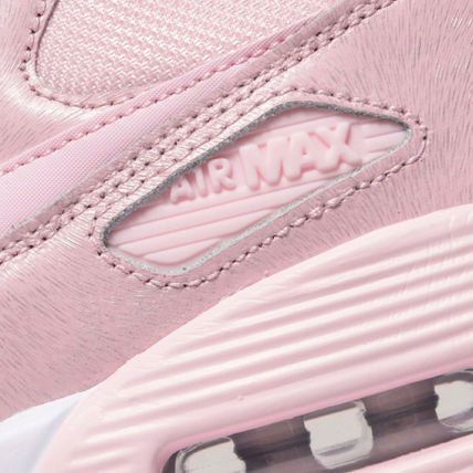Nike キッズスニーカー 【大人もOK】NIKE AIR MAX 90 Prism Pink(ベビーピンク)(3)