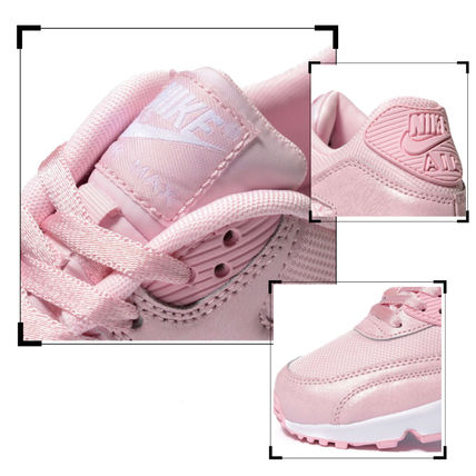 Nike キッズスニーカー 【大人もOK】NIKE AIR MAX 90 Prism Pink(ベビーピンク)(4)