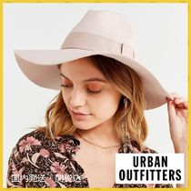 【URBAN OUTFITTERS】ブリクストン ピンクつば広ハット