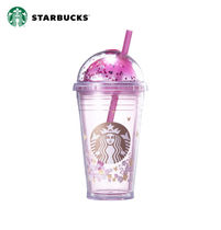 ★STARBUCKS★ Spring flower dome cold cup 473ml