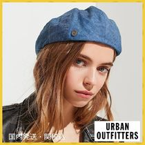 【URBAN OUTFITTERS】ブリクストンブルーシャンブレーハット