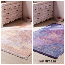 Urban Outfitters(アーバンアウトフィッターズ) ラグ・カーペット UO★Petra Printed Rug ★152×213cm(全2色)