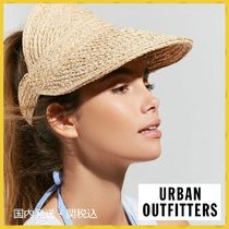 【URBAN OUTFITTERS】ブリクストン ストローバイザー