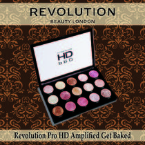 MAKEUP REVOLUTION☆Pro HD Amplified ゲットベイクド 15色 人気