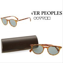 OLIVER PEOPLES(オリバーピープルズ) サングラス ★注目ブランド★  OLIVER PEOPLES DELRAY 送・関込