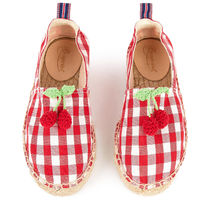 Bonpoint/Cherry rope-soled sandals