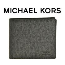 18SS ☆Michael Kors Mens☆ JET SET LOGO 折り財布 BLACK♪