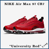 "【Nike】入手困難☆ 激レア Air Max 97 CR7 ""University Red"""