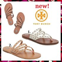 新作 セール Tory Burch 人気 Patos Studded Flat Slide