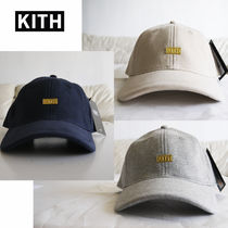 KITH NYC  Gold Box Logo Fleece Cap ロゴ フリースキャップ