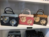 【Michael Kors】新作☆花柄 HAILEE MD SATCHEL 2way バッグ☆