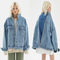 GROOVE RHYME(グルーヴライム) ジャケット ☆GROOVE RHYME ☆ OVERSIZED BACK ZIP DENIM JACKET