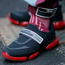 PRADA cloudbust sneakers ASAP rocky 愛用!レッドスニーカー