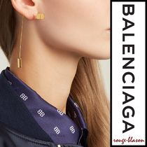【国内発送】Balenciaga ピアス Angular Tie Pin earrings