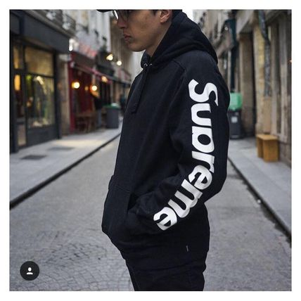 432df66fc589 Supreme パーカー・フーディ 最安 SS18 Supreme Sideline Hooded Sweatshirt Black Mサイズ ...