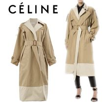 【18SS】大注目!!★CELINE★layered trench coat