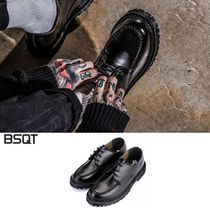 BSQT(ビーエスキューティー) ドレスシューズ・革靴・ビジネスシューズ [BSQT] BSQTBYCLASSY 875 NICE KOLFE DERBY SHOES LUCY BLACK