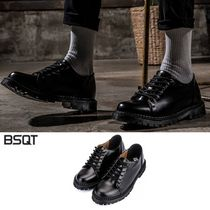 BSQT(ビーエスキューティー) ドレスシューズ・革靴・ビジネスシューズ [BSQT] BSQTBYCLASSY 575 MANCHESTER WELL DONE DERBY SHOES