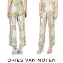 【18SS】大注目!!★Dries Van Noten★floral straight trousers