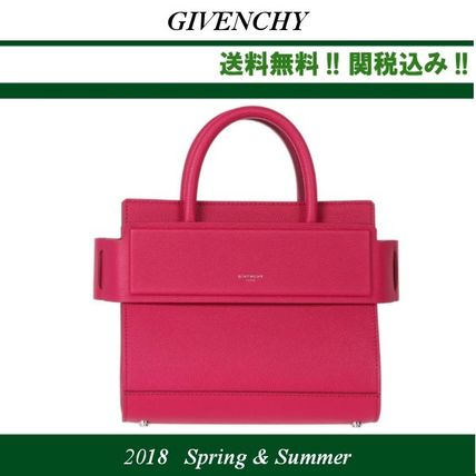 18SS,関税込★GIVENCHY(ジバンシイ) small Horizon bag,fuchsia