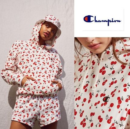 ☆Champion + HVN for Urban Outfitters☆ チェリー柄 パーカー