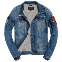 Superdry(極度乾燥しなさい)★SD Rogue Patch Trucker Jacket