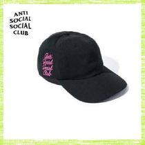 ANTI SOCIAL SOCIAL CLUB OPTIONS キャップ(BLACK)